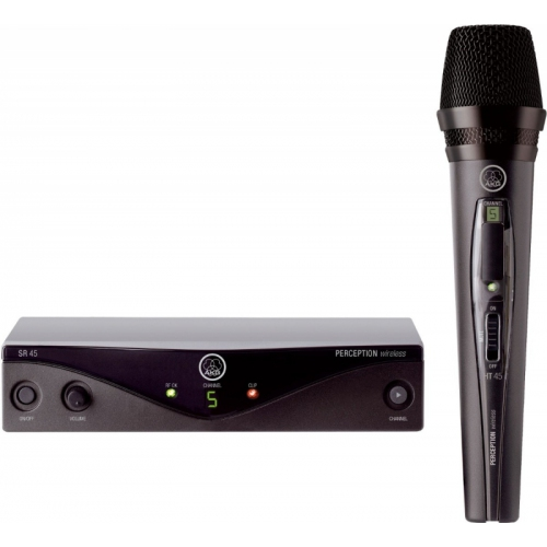 Microfone AKG Perception 45 Wireless UHF de Mão