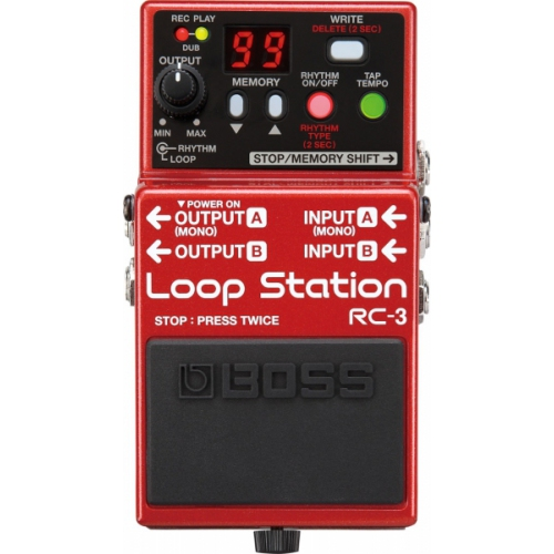 Pedal Boss RC-3 Loop Station