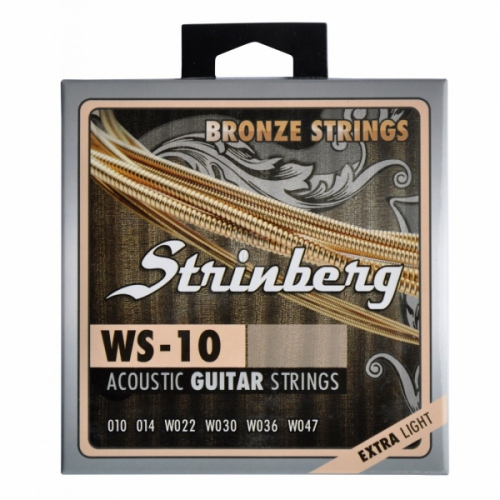 Encordoamento para Violao Strinberg WS-10 Extra Light 0.010