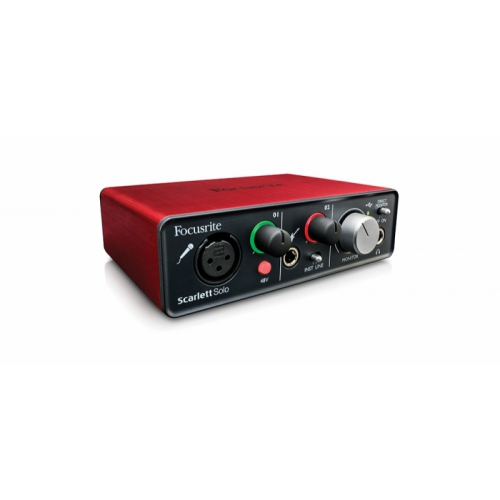 Interface de Áudio Focusrite Scarlett SOLO