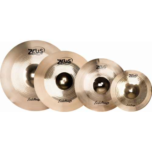 Kit de Pratos Zeus Evolution Pro Set D