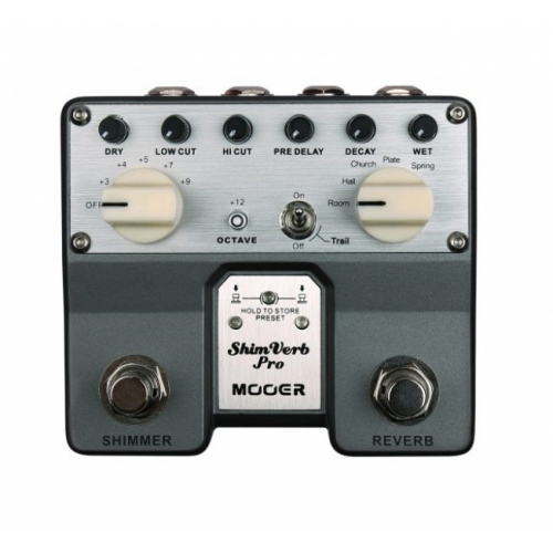 Pedal Mooer Twin Shim Verb Pro TRV1
