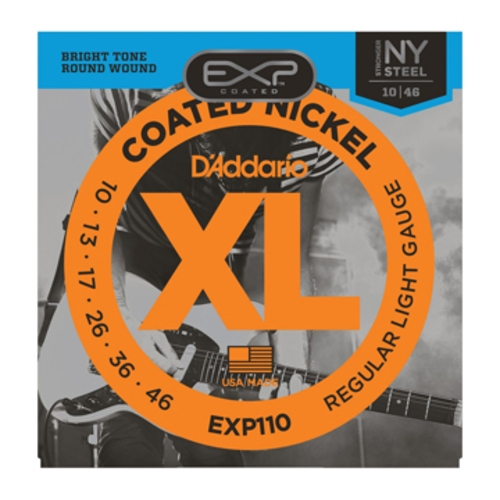Encordoamento para Guitarra D'Addario EXP110 Regular Light 0.010