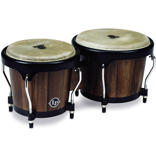 Bongô LP Percussion Aspire Series LPA601-SW Jamjuree Escuro