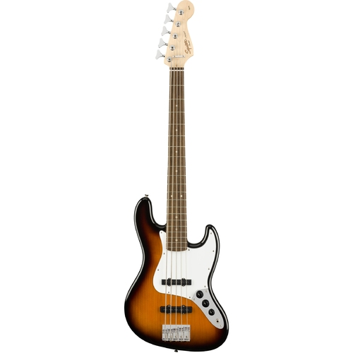 Contrabaixo Fender Squier Jazz Bass Affinity Brown Sunburst de 5 Cordas - 037-1575-532