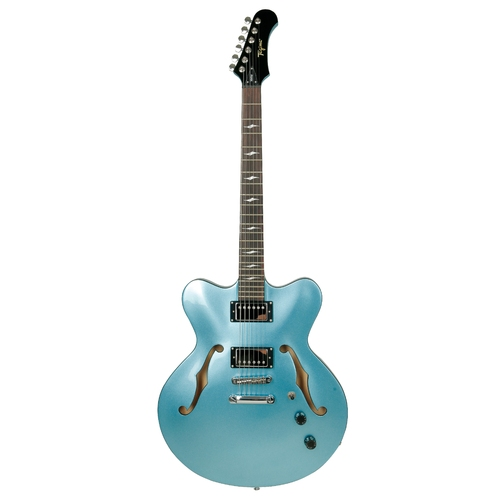 Guitarra Tagima Seattle Azul Semi-Acústica  Jazz N Blues Serie c/ Hard Case