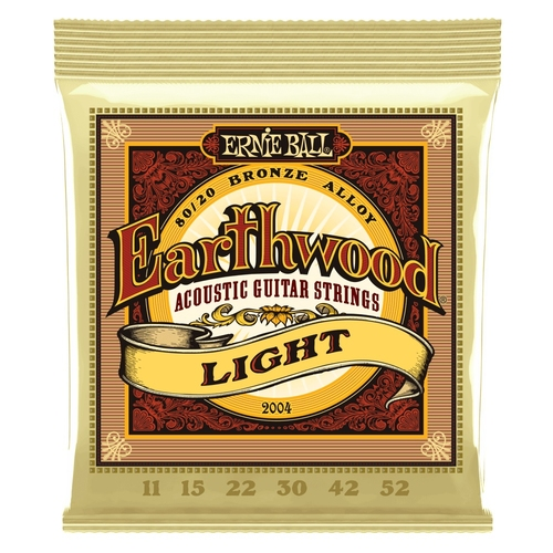 Encordoamento para Violao Ernie Ball 2004 Earthwood Light 0.011