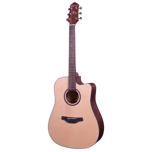 Violão Crafter HD100CE Folk Natural Satin