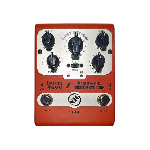 Pedal NIG FZD Multi Fuzz and Vintage Distortion
