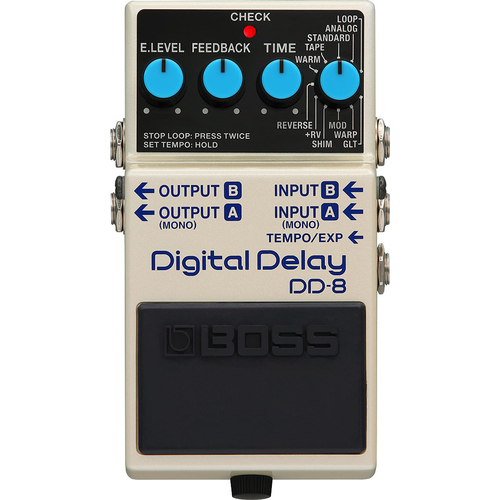 Pedal Boss DD-8 Digital Delay